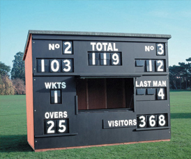 Cricket Scoreboxes