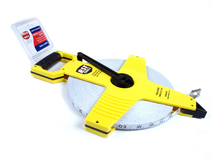 100m Glassfibre Measuring Tape