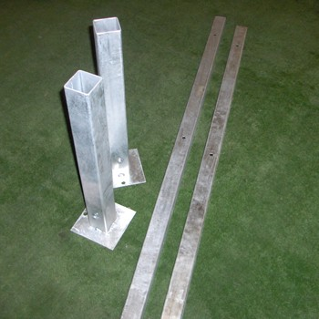 Galvanised legs for Manual Scoreboard