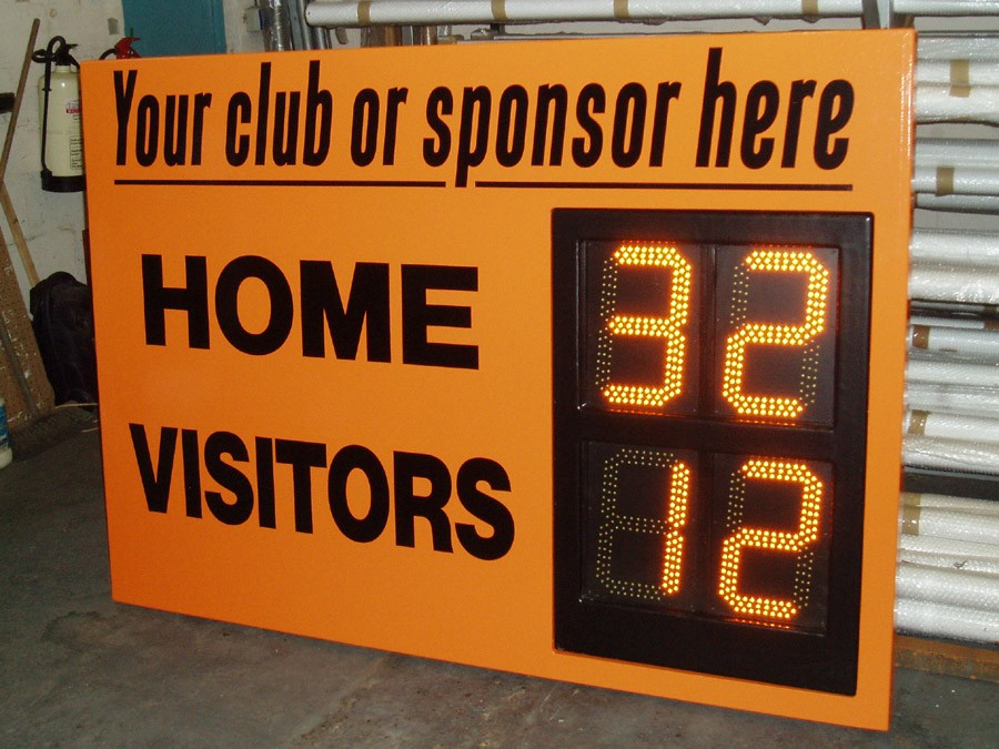 Electronic Hockey Scoreboard 4 Digit