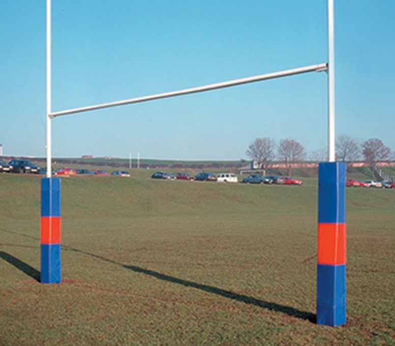 H/Duty Steel Socketed Rugby Posts 13.41m