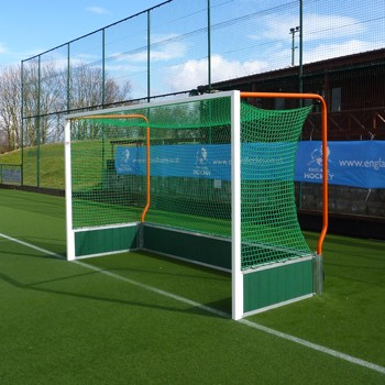 Self-weighted Aluminium Hockey Goals freehanging nets
