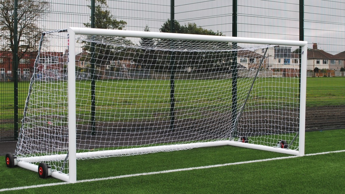 self weighted aluminium 9-a-side goals
