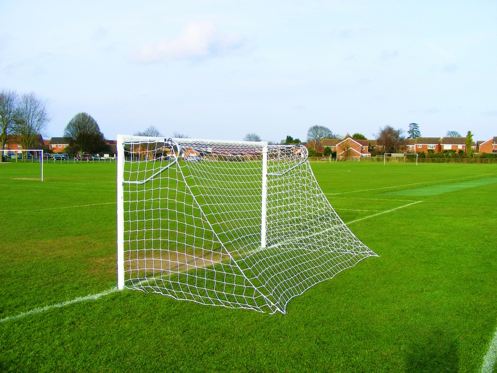 Extra Heavy Duty Steel Socketed 7-A-Side Goals