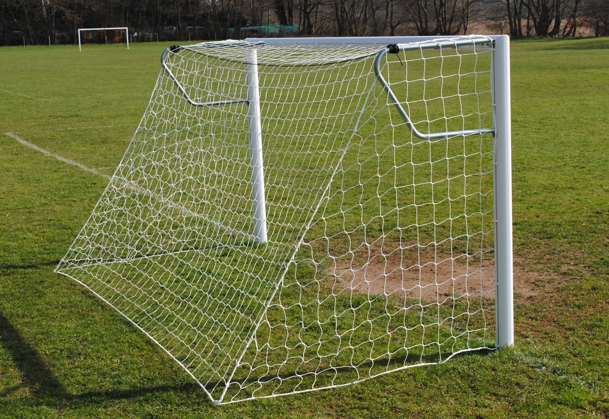 socketed aluminium 7-a-side mini goals
