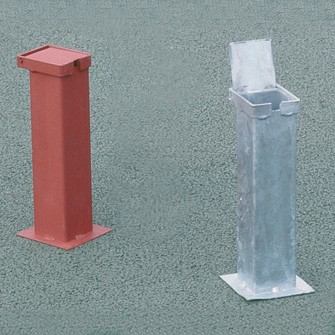 Steel Ground Sockets with Lids