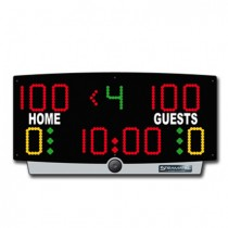 Basketball Electronic Table Top Scoreboard - Battery