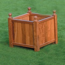 Large Hardwood Planter