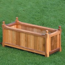 Hardwood Planter Trough