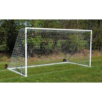 heavy duty steel wheeled 9-a-side goals
