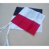 Horizontal 2-Colour Corner Flag