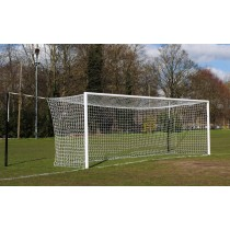 Match senior aluminium socketed football goals