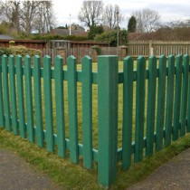 Plastic Picket Fencing