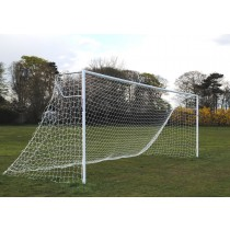 heavy duty socketed senior steel football goals