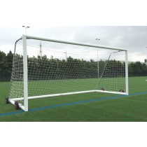 wheeled aluminium 9-a-side goals