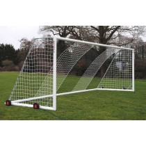 Wheeled Aluminium Football Goals