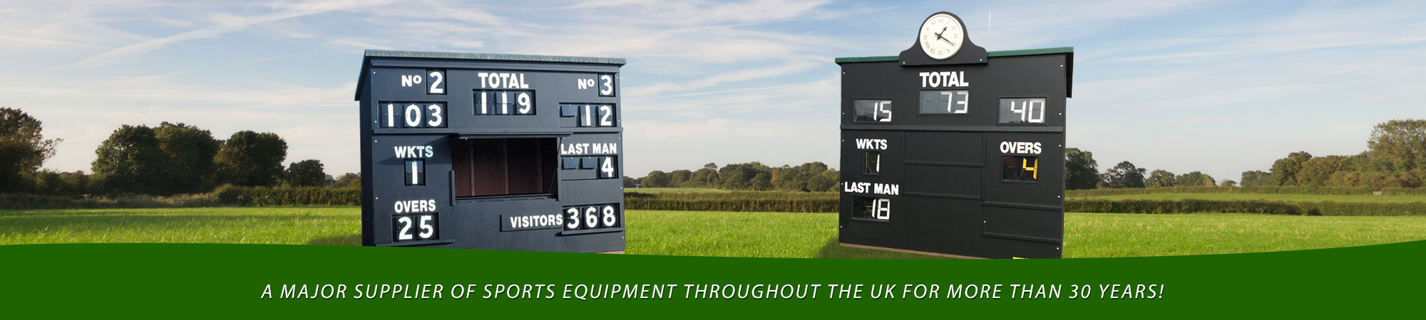 SportyCo Cricket Scoreboards